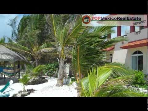 Home Beachfront For Sale -Tulum Real Estate Homes
