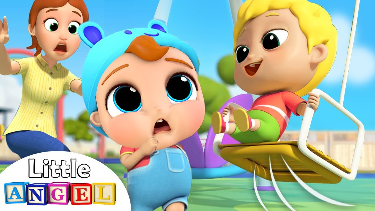 Be Safe at the Playground   Little Angel Nursery Rhymes and Kids Songs