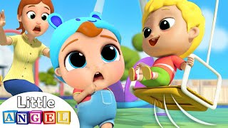 Download Be Safe at the Playground | Little Angel Nursery Rhymes and Kids Songs Mp3 and Videos
