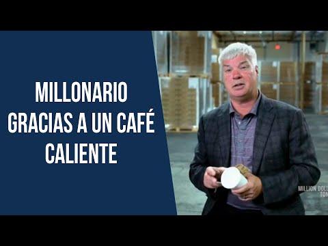 Se hizo millonario gracias a un café caliente ☕