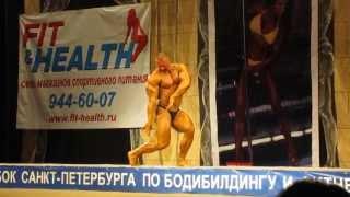 Выступление Вадима Скорнякова на Кубке Санкта-Петербурга по бодибилдингу и фитнесу