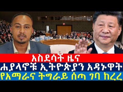 ሐያላኖቹ ኢትዮጵያን አዳኑዋት | የአማራና ትግራይ ሰጣ ገባ ከረረ | BBC Ethiopian news today  | CNN Ethiopia news today |