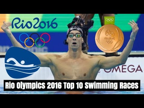 Rio 2016 - Top 10 Swimming Races