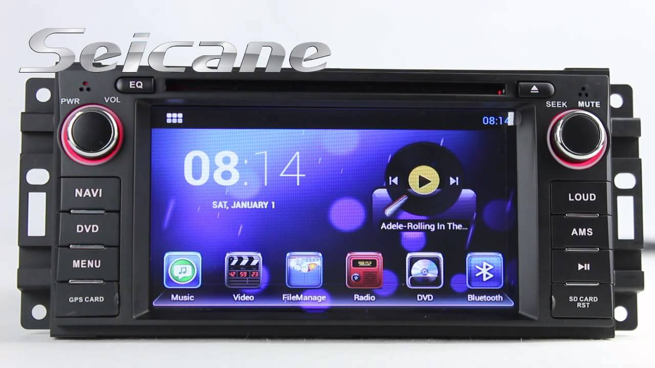 Android 4 2 Jeep Wrangler Unlimited Aftermarket Navigation