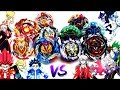 Turbo Kings VS Dead Gran  TEAM BATTLE  Beyblade Burst Super Z                    vs