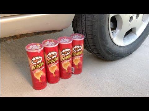 EXPERIMENT CAR VS ORIGINAL PRINGLES