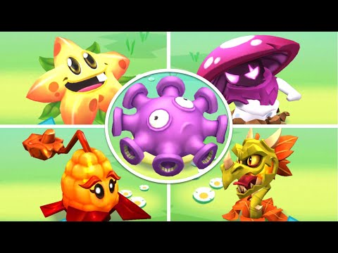 Plants vs. Zombies 3: All Plants Characters! All Abilities! (All 39 Plants)