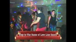 Step In The Name of Love Line Dance Instructions Caleb Crump