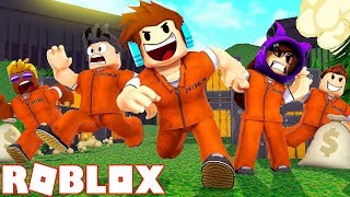 WE RUN with REGISTERED FROM PRISON on ROBLOX! (Roblox Jailbreak)