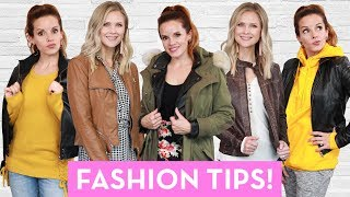 5 Ways to STYLE Your Leather Jacket!