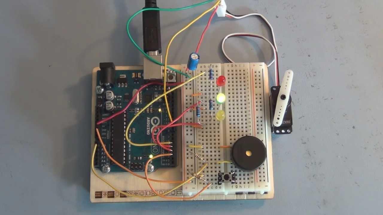 Arduino Servo Motor Knock Lock tutorial  YouTube