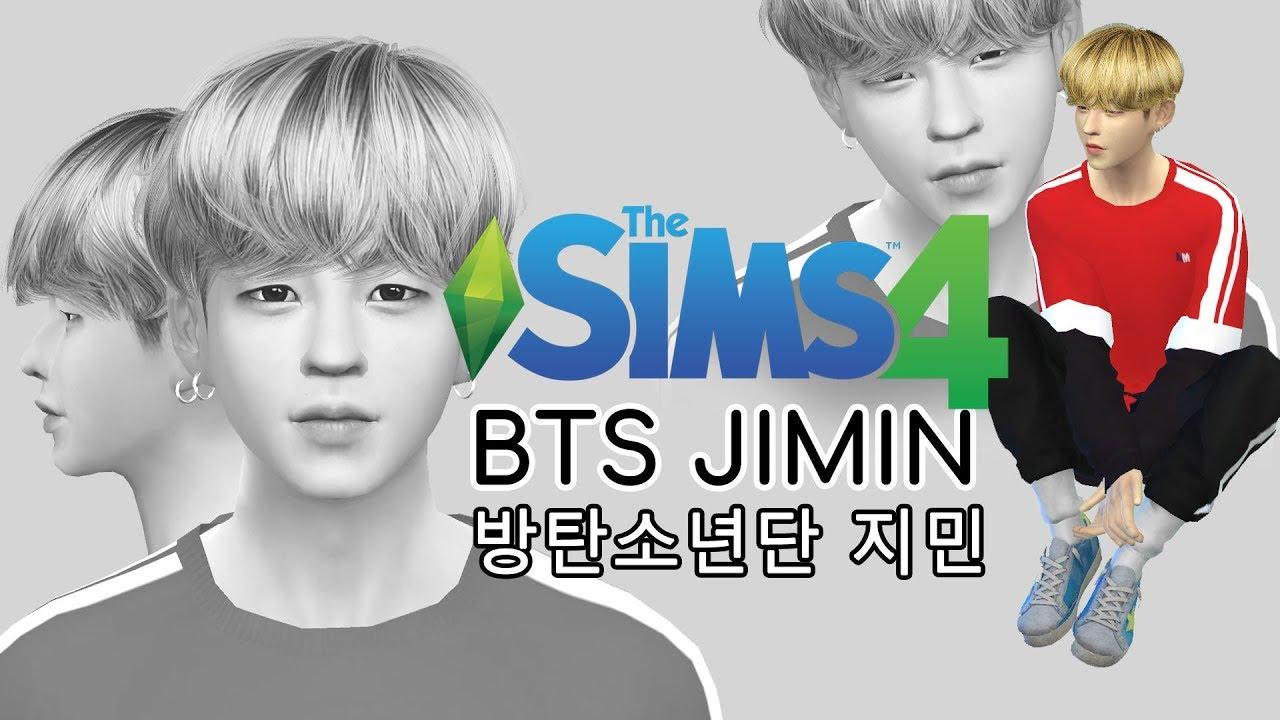 The Sims 4 Create A Sim: Park Jimin(박지민) of BTS(방탄소년단