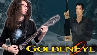 Goldeneye 007 RUNWAY THEME - Metal Cover || ToxicxEternity