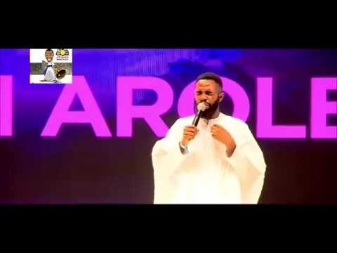 See How Woli Arole Predicted Banky W's wedding in One of His most Hilarious Stage Performance