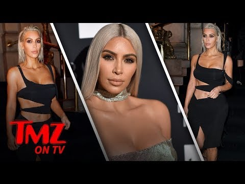 Kim Kardashian Is Blonde and Ripped | TMZ TV