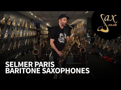 Selmer Paris Baritone Saxophones