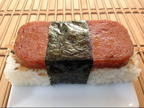 How To Make Spam Musubi-Hawaiian Food Recipes