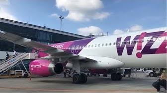 |TRIP REPORT (german) | Wizz Air | A320-200 | Dortmund-Katowice | ECONOMY |