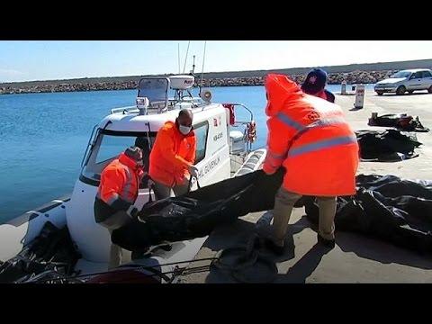 Des migrants se noient au large de Lesbos