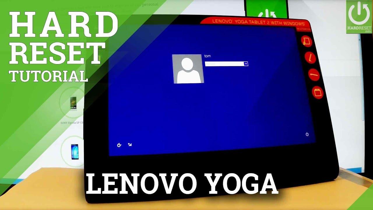 Hard Reset LENOVO Yoga 2 8