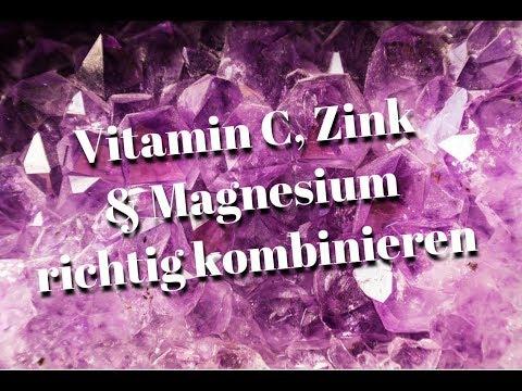 Vitamin C, Zink, Magnesium richtig einnehmen - 8 Tipps für die optimale Wirkung von Vitamin C & Co.