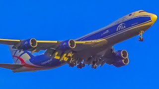 (4K) Afternoon Heavy Arrivals at Chicago O'Hare