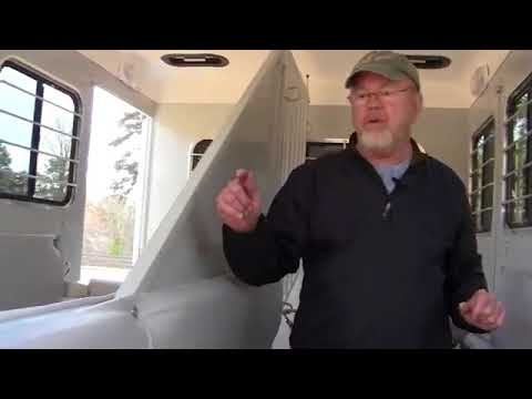 EquiSpirit Safety Philosophy  2 Horse Trailer with Dressing Room
