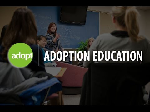 Adoption education with