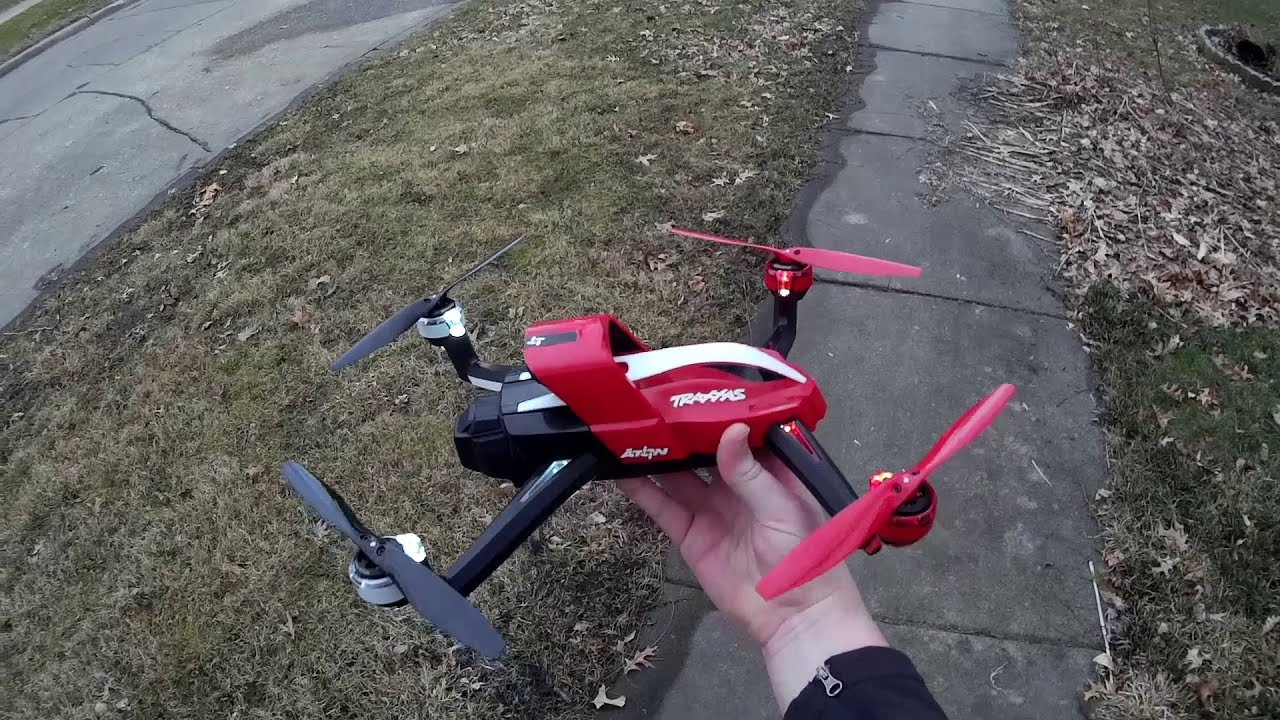 Traxxas Aton Maiden Flight with The Fly Review mentary