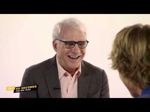 "Cinemax 60 Seconds: Steve Martin  ""The Big Year"" (Cinemax)"