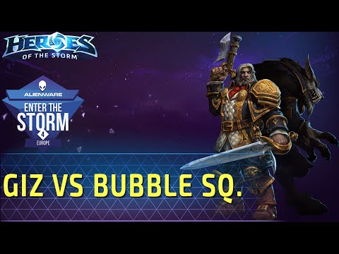 видео: giz vs bubble squad: популярный седогрив. Матч на enter the storm