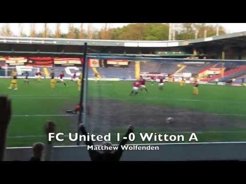 FC United 3-1 Witton A. 7 May 2013.