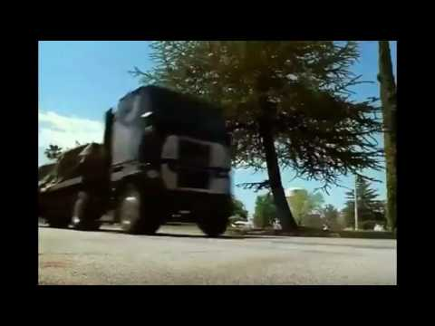 Truck horn pass by sounds used in films, TV shows and games from late 80's to current