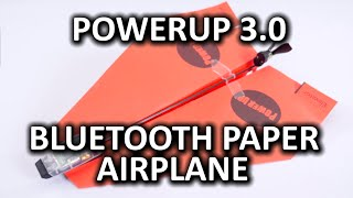 PowerUp 3.0 Bluetooth Controlled Paper Airplane from TailorToys & a Surprise