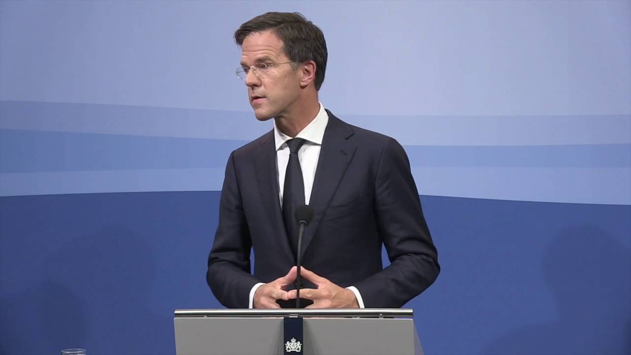 Integrale Persconferentie MP Rutte 9 September 2016
