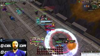 Bajheera - (Undergeared) Arms Warrior vs Fire Mage Duel :D - 5.4 Warrior PvP