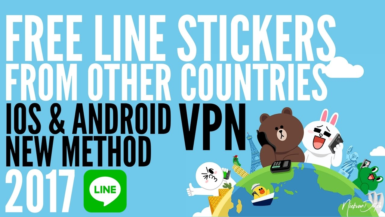 how to get free line stickers