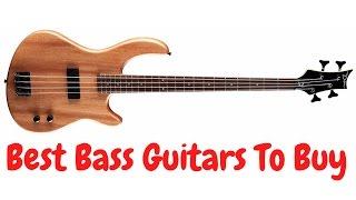 Best Bass Guitars To Buy 2017 | Best Bass Guitars 2017 #BassGuitars