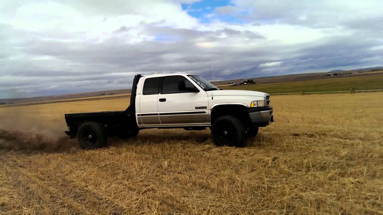 Dodge Quotes Rollin Coal In A Stubble Field  Youtube