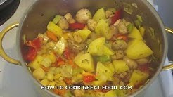 Healthy Vegetable Stew - Vegan Casserole - Recipes for weight loss - Mixed Veggie Stew - Gluten Free