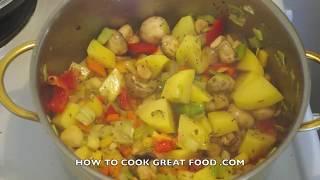 Healthy Vegetable Stew Recipe Video Vegan