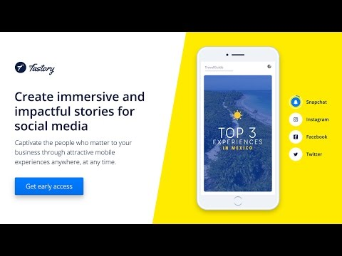 Fastory : Create Immersive and Impactful Stories for Social Media