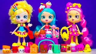 SHOPKINS SHOPPIES Dolls & Shopkins 12-Pack | Kinder Playtime