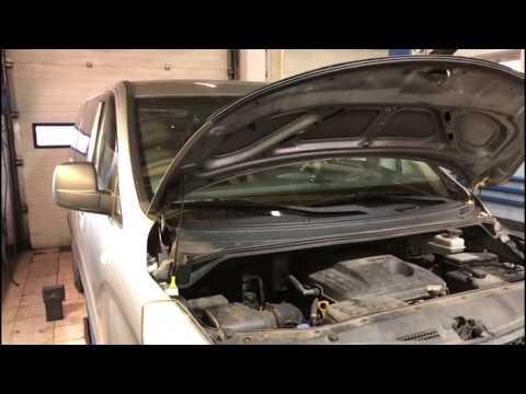 Хендай Старекс ремонт| Замена ролика сдвижной двери