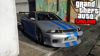 GTA ONLINE - FAST AND FURIOUS SKYLINE