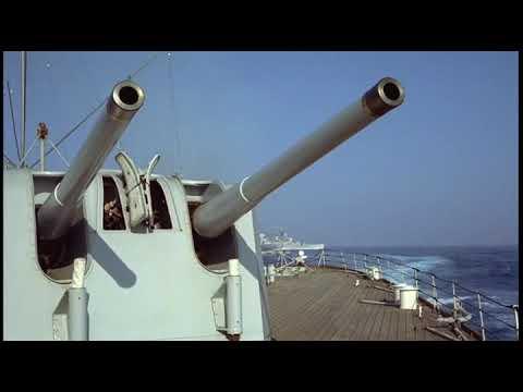 The Battle Of The River Plate 1956 Battle Scene Pt 1 Youtube