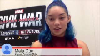 Marvel's Captain America: Girls Reforming the Future Contest Webinar