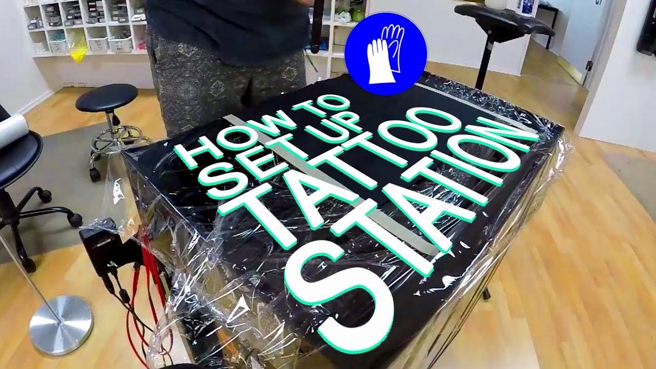 How to set up Tattoo station - YouTube
