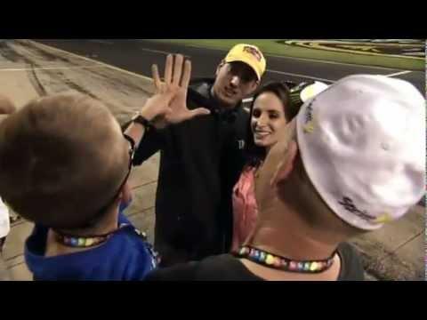 My Wish: NASCAR's Kyle Busch Meets Kyle