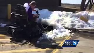 All-terrain wheelchair will allow man to give back